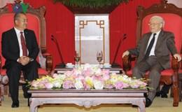 Tổng Bí thư: Làm hết sức mình giữ gìn mối quan hệ đoàn kết đặc biệt Việt Nam-Lào