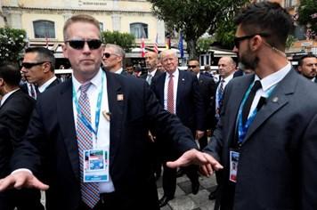 Lần theo dấu vết các mật vụ bảo vệ Tổng thống Mỹ Donald Trump