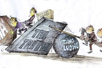 Nghịch lý sau tăng lương: Giá giảm - hàng tồn
