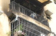 TP HCM: Cháy chung cư, nhiều người hoảng loạn