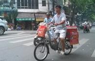 Đạp xe đi bán... càphê