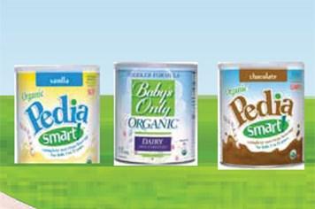 Organic: Công thức tự nhiên và lành mạnh