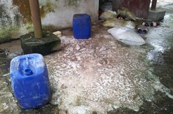 Vụ chôn thuốc trừ sâu: Phát hiện thêm hóa chất lạ ở Cty Nicotex