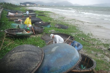 Đà Nẵng: Tất bật đón bão số 10