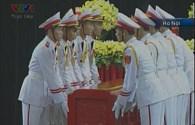 Video lễ động quan và di cữu Đại tướng Võ Nguyên Giáp tại Hà Nội