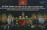 Video lễ truy điệu Đại tướng Võ Nguyên Giáp: Tổng Bí thư Nguyễn Phú Trọng đọc điếu văn