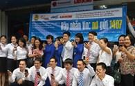 UBND tỉnh Bình Định, Phú Yên, Quảng Nam, Quảng Trị, Hà Tĩnh tặng bằng khen cho Quỹ Tấm Lòng vàng và Báo Lao Động