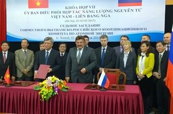 Việt - Nga hợp tác trong lĩnh vực hạt nhân vì mục đích hoà bình