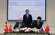 Thành phố Hồ Chí Minh và tỉnh Mátxcơva ký thỏa thuận hợp tác