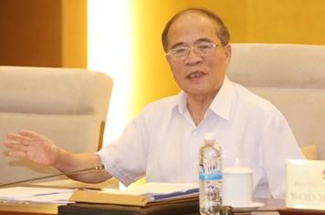 Chủ tịch Quốc hội Nguyễn Sinh Hùng: Trưng cầu ý dân - dân đồng ý mới làm