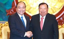 Quan hệ đặc biệt Việt - Lào phát triển ngày càng sâu rộng