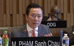 Đại sứ Phạm Sanh Châu: UNESCO cần thúc đẩy hòa bình và cải cách