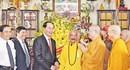 Chủ tịch Nước Trần Đại Quang thăm Đại lão Hòa thượng Thích Phổ Tuệ