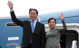 Chủ tịch Nước Trần Đại Quang thăm cấp nhà nước tới Trung Quốc