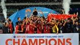 """""""Chức vô địch của U15 sẽ tạo cú hích cho U22 Việt Nam ở SEA Games 29"""""""