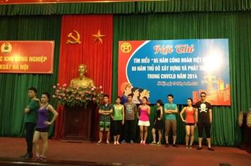 """CĐ các Khu công nghiệp – chế xuất Hà Nội: Thi tìm hiểu """"85 năm Công đoàn Việt Nam"""""""
