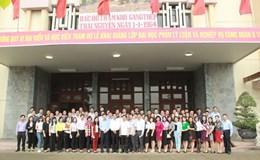 CĐ Công thương VN: Lần đầu tổ chức lớp Đại học Lý luận và Nghiệp vụ cho cán bộ CĐ