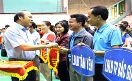 Giải Cầu lông - Quần vợt truyền thống CNVCLĐ tỉnh Bắc Giang