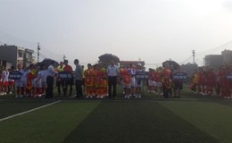 LĐLĐ tỉnh Bắc Giang: Gần 100 VĐV tham dự Giải bóng đá nữ CNVCLĐ tỉnh lần thứ Nhất