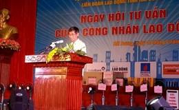 Ngày hội tư vấn tại Hải Dương: Đáp ứng nhu cầu hiểu biết của đoàn viên, CNLĐ