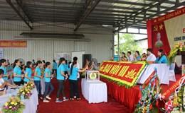 Cty Giầy Adora VN (KCN tỉnh Ninh Bình) tổ chức đại hội điểm