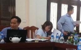 LĐLĐ tỉnh Ninh Bình làm việc với Đoàn Khảo sát Ban Tài chính Tổng LĐLĐVN