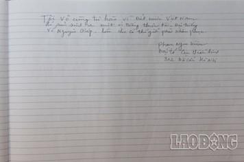 Đong đầy tình cảm trong sổ tang tiễn biệt Đại tướng Võ Nguyên Giáp (P9)