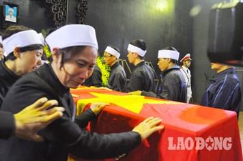 Xót thương lễ tang nạn nhân tử vong tại dự án đường sắt trên cao