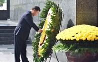 Khoảnh khắc Tổng bí thư, Chủ tịch Trung Quốc viếng lăng Chủ tịch Hồ Chí Minh