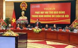 Bí thư Thành uỷ Hải Phòng Lê Văn Thành: Báo chí giúp địa phương phát triển