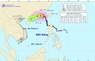 Cập nhật tin bão số 2 ngày 9.7: Bão mạnh lên giật cấp 13