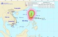 Ngày 19.10: Bão Koppu giật cấp 14 trên đất liền Philippines, giật cấp 9-10 trên biển Đông