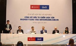 Tập đoàn BĐS trực tuyến - PropertyGuru đầu tư vào chiến lược batdongsan.com.vn