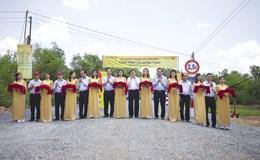 MobiFone tài trợ xây 10 cầu giao thông nông thôn tại Long An