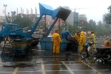 Bão số 14: Ngành thoát nước tại Hà Nội chuẩn bị đón bão lớn