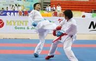 Võ sĩ Bùi Như Mỹ đã giành HC đồng Karatedo