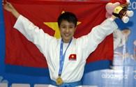 Vũ Thị Nguyệt Ánh giành HCV Karatedo duy nhất cho VN trong ngày 14.12