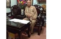 Người viết câu đối viếng Đại tướng Võ Nguyên Giáp làm thơ chúc xuân