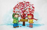 Muôn cách thể hiện tình cảm trong ngày Valentine.