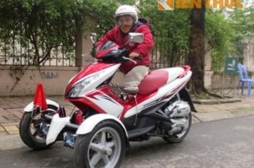 Honda Airblade độ đầy phong cách của Nguyễn Sơn Lâm