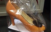 Độc đáo giày cao gót làm bằng chocolate cho mùa Valentine