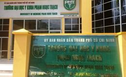 Trường Đại học Y khoa Phạm Ngọc Thạch công bố điểm sàn