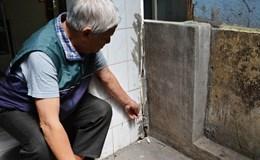 Xuất hiện hàng loạt vết nứt tại nhiều nhà giữa trung tâm Đà Lạt
