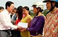 Quỹ Tấm Lòng Vàng Lao Động:  Những món quà đến sớm với người dân vùng lũ