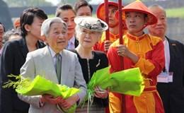 Nhà vua Nhật Bản và Hoàng hậu vào Đại nội thưởng thức Nhã nhạc cung đình