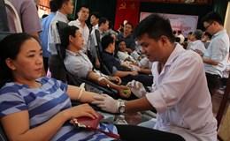 LĐLĐ tỉnh Quảng Trị: Gần 600 người lao động tham gia hiến máu tình nguyện