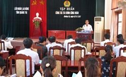 LĐLĐ tỉnh Quảng Trị: Nâng cao kiến thức quản lý tài chính công đoàn