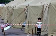 Tuần tới, người Việt ở khu trại dã chiến Nga sẽ bị trục xuất