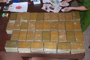 65% lượng ma túy thẩm lậu qua tuyến biên giới Việt - Lào