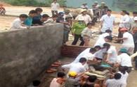 Quảng Ninh: Sập hố móng công trình, 4 người thiệt mạng